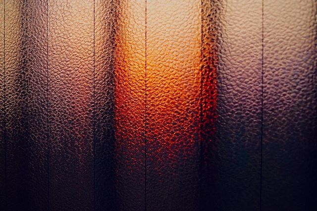 部屋からの夕焼け。 - from Instagram